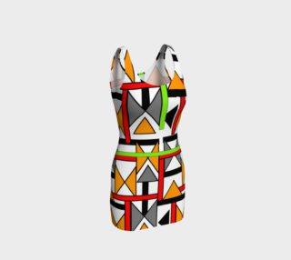 Bold funky Geometric Print Dress preview