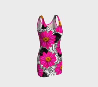 Hot Florals - Bodycon Dress preview