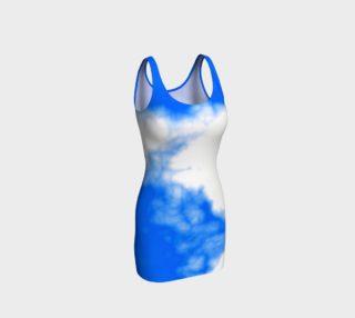 Aperçu de Blue Cloud Bodycon Dress