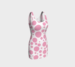 PINK Polka DOTS Bodycon Dress preview