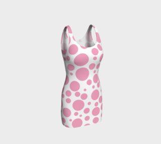 Aperçu de PINK Polka DOTS Bodycon Dress