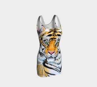 """""""Top Cat"""" Tiger - Bodycon Dress preview"""