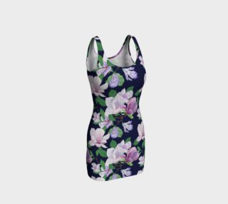 Magnolia Floral Frenzy Bodycon Dress preview