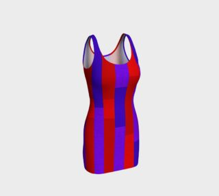 Aperçu de Bodycon Dress of Many Stripes 2