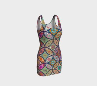 Vibrant Mandalas Bodycon Dress preview