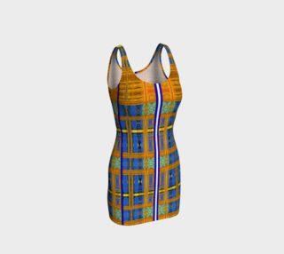Channeling Vincent / Virtual Vincent™ Multi-Window Bodycon Dress preview