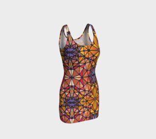 Amber Kaleidoscope Bodycon Dress preview