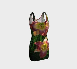 Daylily bodycon dress  preview