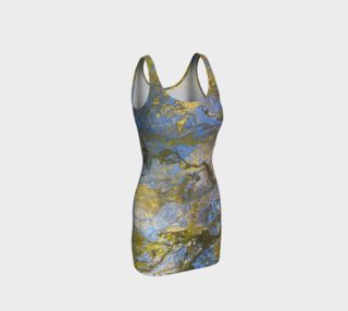 scramble fitted dress preview