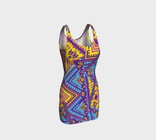 TIKI Original Flare Dress  105-4 preview