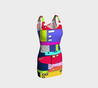 Space City Bodycon Dress preview
