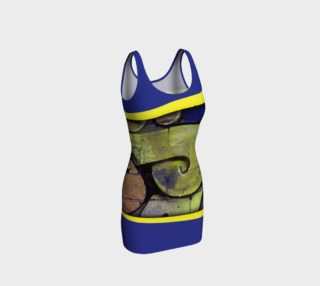 CHOLO - Blue/Yellow - Bodycon preview