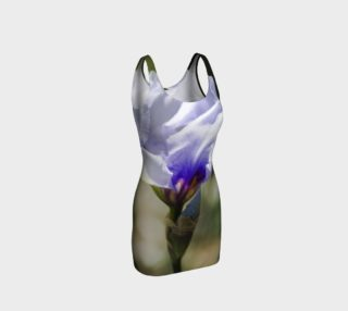 Purple & White Iris Bodycon Dress preview
