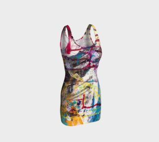 Happiness 1 Bodycon Dress preview