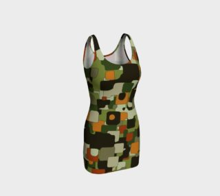 Camouflage Bodycon Dress  preview