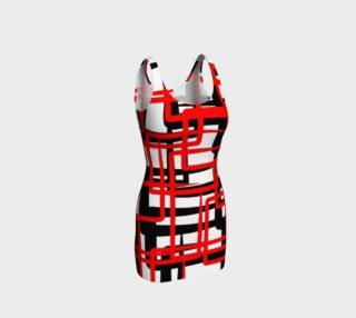 Squares dress preview