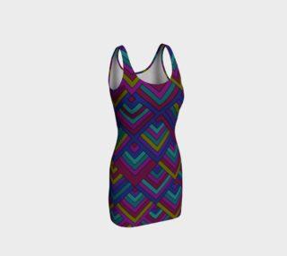 Aztec Pattern Bodycon Dress  preview