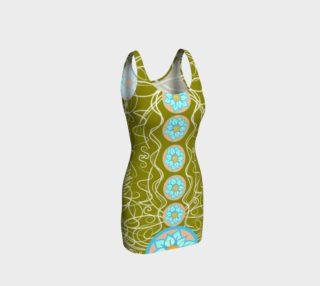 Flor de Seis Curve Hugging Dress preview