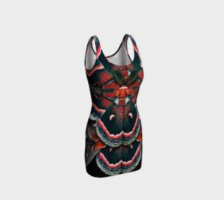 Aperçu de Mondo Cecropia Moth Bodycon Dress 2