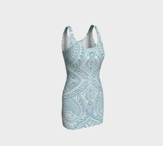 Iced Lace Vintage Print Dress by Tabz Jones preview