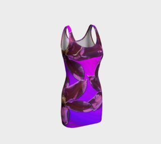 I Love Purple Bodycon Dress  preview
