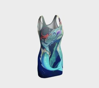 Aperçu de Strange Creatures Mermaid Bodycon Dress
