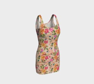 Golden Flitch (Digital Vintage Retro / Glitched Pastel Flowers - Floral design pattern) preview
