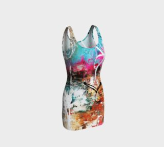 Aperçu de Matt LeBlanc Art Bodycon Dress - 002