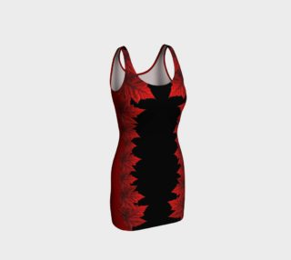 Red Maple Leaf Dress Fitted Canada Dresses preview