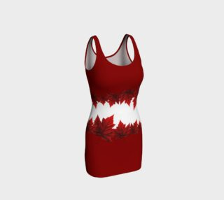 Red Maple Leaf Dress Beautiful Canada Dresses preview