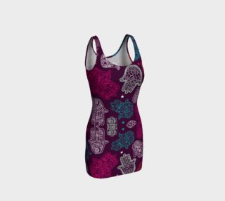 Hamsa Body Con Dress preview