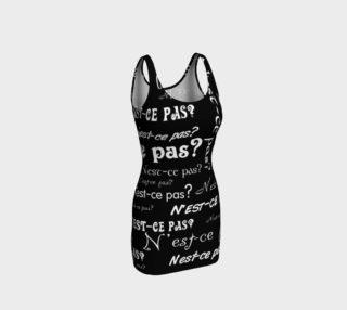 White N'est-ce Pas Bodycon Dress preview