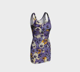 Pressed Flowers Bodycon Dress preview