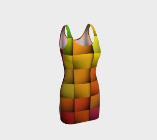 Aperçu de Rainbow Weave Bodycon Dress by JoJo (1170007-B)