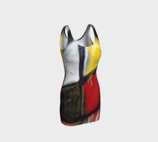 Medicine Wheel Bodycon Dress preview