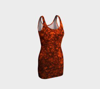 Molten Lava Bodycon Dress preview