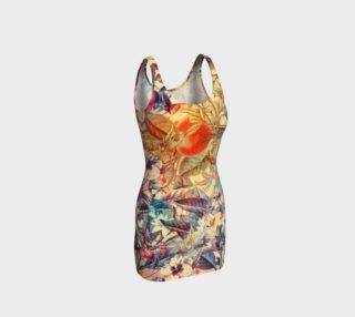 bodycon dress flowers and fruits preview