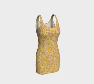 Yellow Pressed Flowers Dress preview