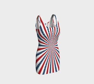 American Patriotism Bodycon Dress preview