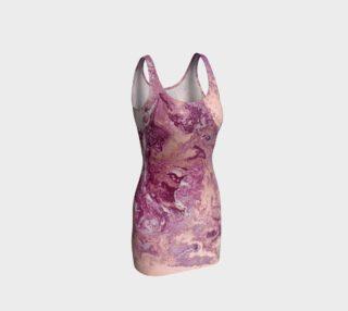 Purple Copper Majesty Bodycon Dress preview