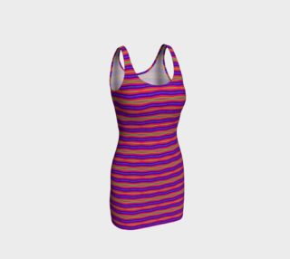 Modern Pink Purple Abstract Stripes Pattern preview