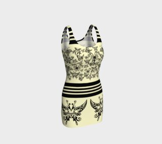 BKC Black Butterfly Body Contouring Dress 2 preview
