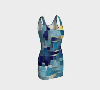 Aperçu de pieces of blue body con dress
