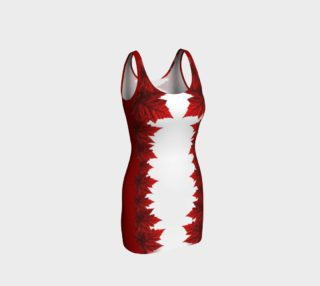 Canada Dress Canadian Maple Leaf Dresses Fitted preview