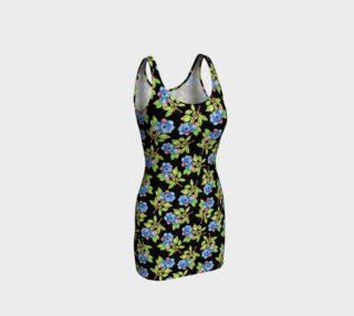Aperçu de Blueberry Sprig BodyCon Dress