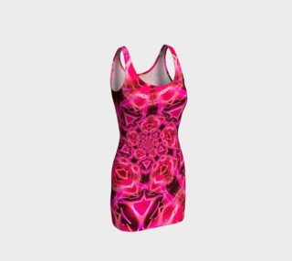 Shocks My Brain Pink Tank Dress aperçu