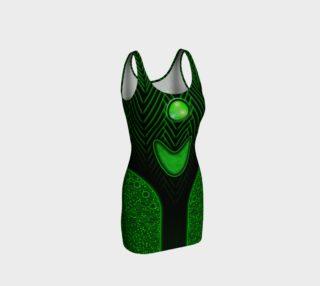 Cyberpunk Dress in Green preview