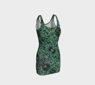 Emerald Gemstone Stained Glass Bodycon Dress I  preview
