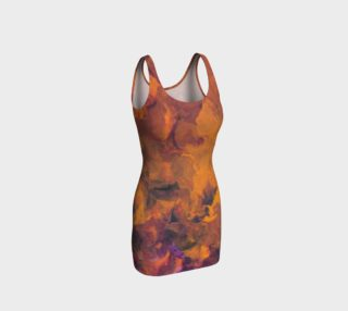 Sunset Flowers Bodycon Dress preview