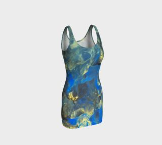 Flowers in the Sky Bodycon Dress preview